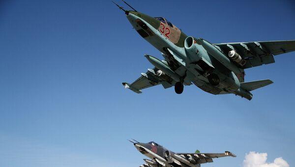 Ruské stíhačky Su-25 - Sputnik Česká republika