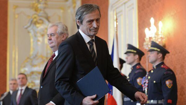 Ministr obrany ČR Martin Stropnický - Sputnik Česká republika