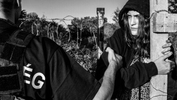 Fotografie ze série Der Migrant - Sputnik Česká republika