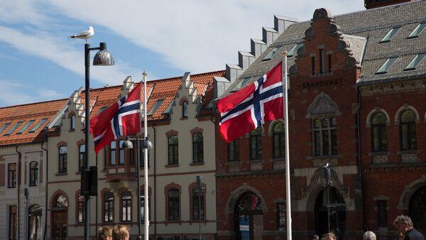 Norské vlajky - Sputnik Česká republika