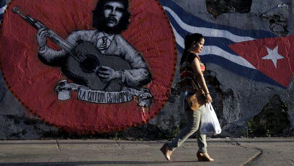 Kubánská vlajka - Sputnik Česká republika