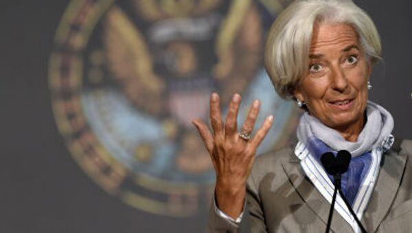 Christine Lagardeová, generální ředitelka Mezinárodního měnového fondu - Sputnik Česká republika