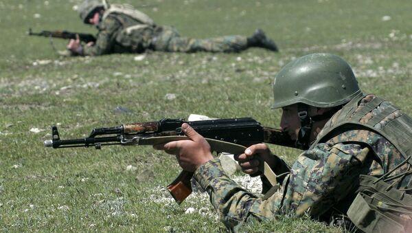 Vojnská cvičení NATO - Sputnik Česká republika