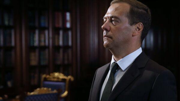Ruský premiér Dmitrij Medveděv - Sputnik Česká republika