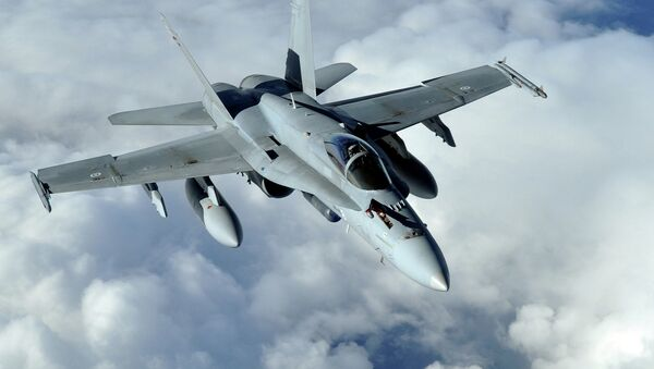F-18 Hornet. Ilustrační foto - Sputnik Česká republika