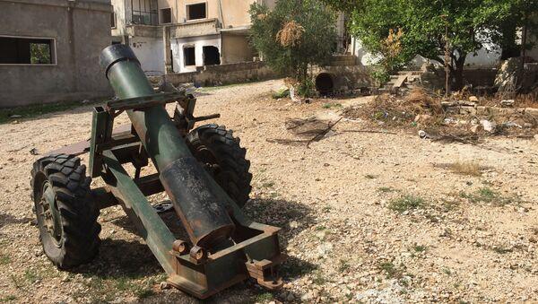 Syrská obec Saf-Safa, osvobozená od bojovníků - Sputnik Česká republika