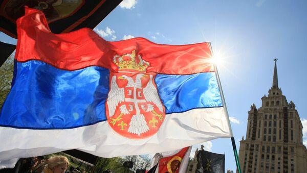 Srbská vlajka - Sputnik Česká republika