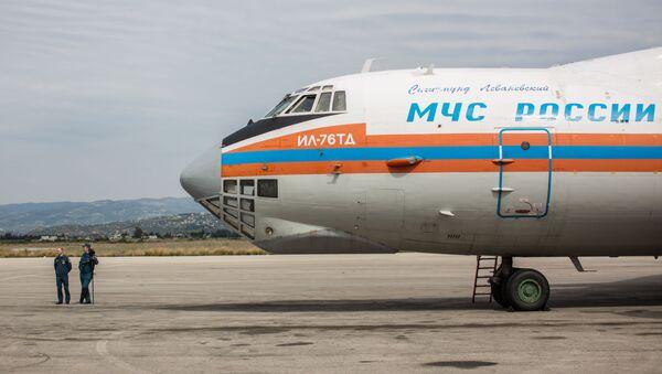 Letadlo s humanitární pomocí - Sputnik Česká republika