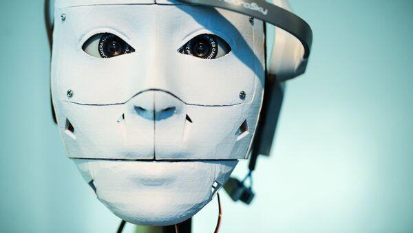 Robot RusCyborg - Sputnik Česká republika