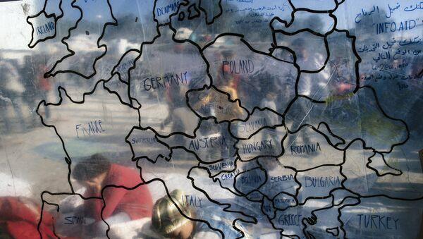 Migrační krize v Evropě - Sputnik Česká republika