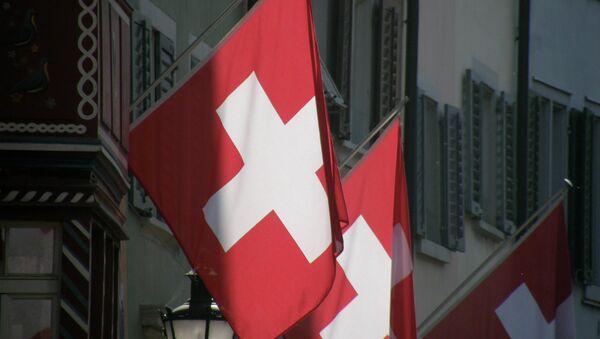 Švýcarská vlajka - Sputnik Česká republika