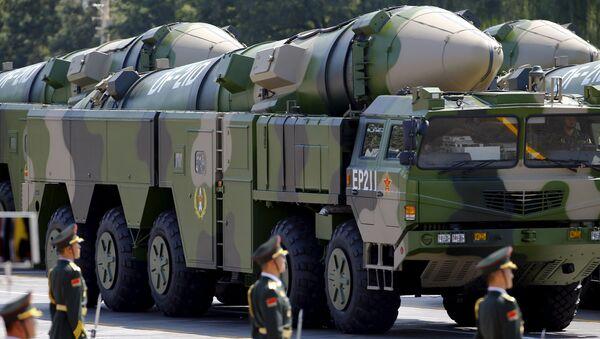 Balistické rakety DF-41 - Sputnik Česká republika