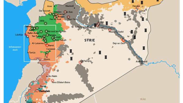 Letecké údery Ruska na pozice IS v Sýrii - Sputnik Česká republika
