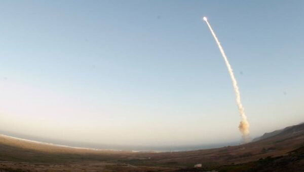 USA vykonaly další zkoušku mezikontinentální rakety Minuteman III - Sputnik Česká republika