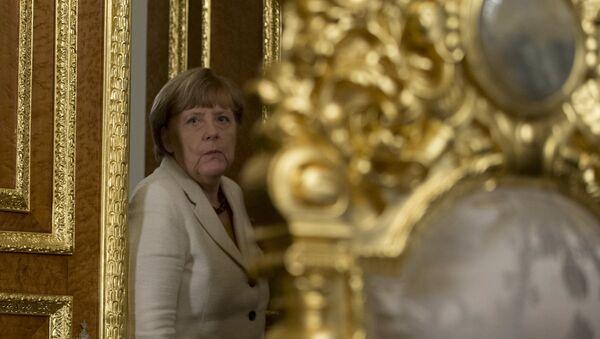 Angela Merkelová v Istanbulu - Sputnik Česká republika
