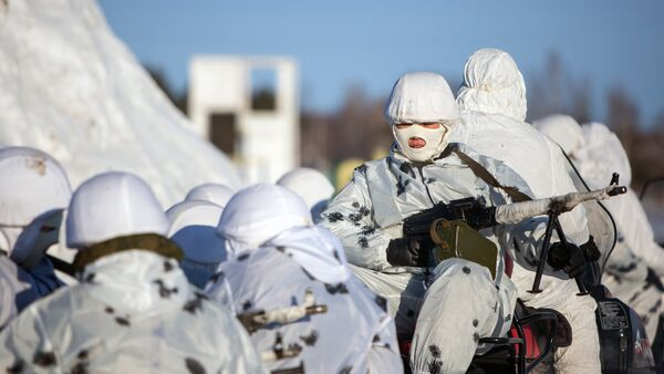 Arktické seskupení vojsk RF - Sputnik Česká republika