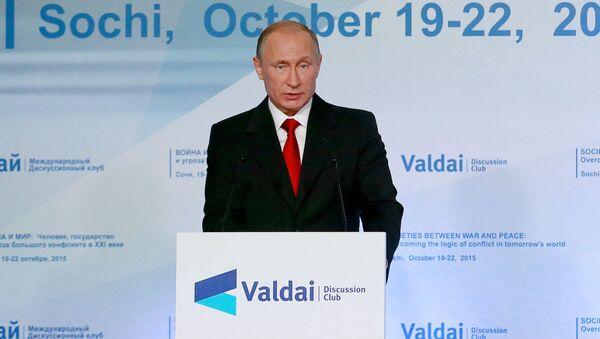 Vladimir Putin. - Sputnik Česká republika