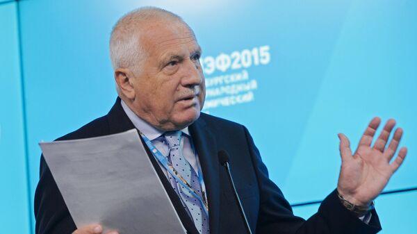 Václav Klaus - Sputnik Česká republika