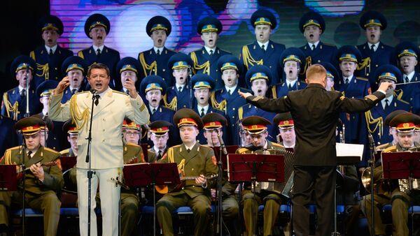 Vystoupení Akademického souboru písní a tanců Ruské armády A.V.Alexandrova v Soči - Sputnik Česká republika