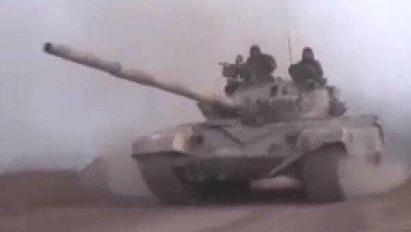 Islámský stát, syrské tanky si jdou pro tebe! - Sputnik Česká republika