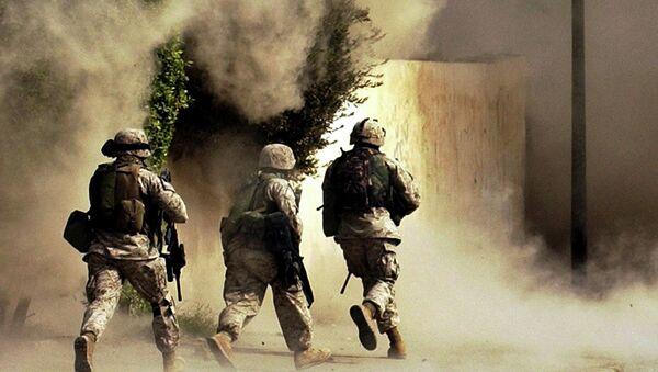 Američtí vojáci v Iráku, rok 2004 - Sputnik Česká republika
