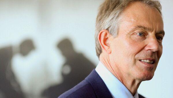 Ex-British PM Tony Blair - Sputnik Česká republika