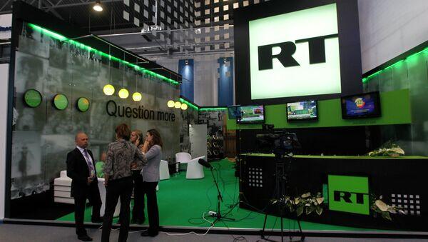 Televizní kanál RT - Sputnik Česká republika