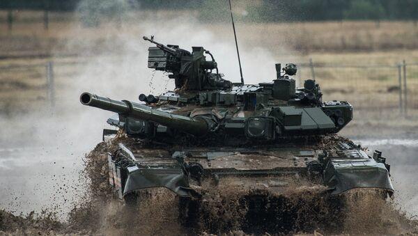 Tank T-90. Ilustrační foto - Sputnik Česká republika
