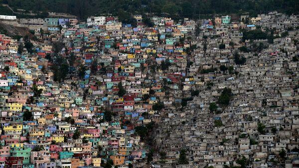 Hlavní město Haiti Port-au-Prince. - Sputnik Česká republika