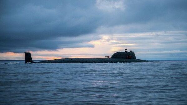 Víceúčelová atomová ponorka 4. generace Severodvinsk - Sputnik Česká republika