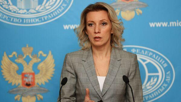 Oficiální mluvčí ruského MZV Maria Zacharovová - Sputnik Česká republika