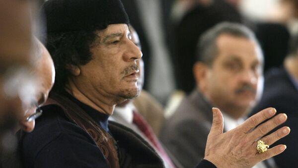 Muammar Kaddáfí. Ilustrační foto - Sputnik Česká republika