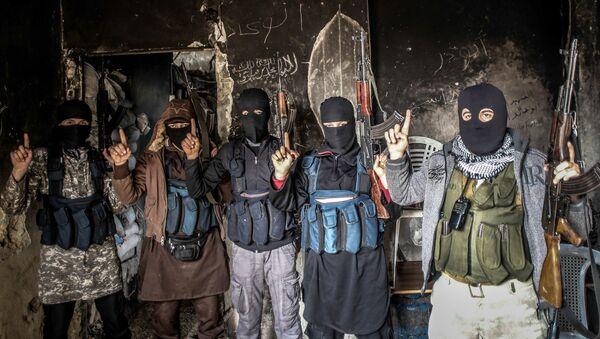 Příslušníci Al-Káidy z různých zemí - Sputnik Česká republika