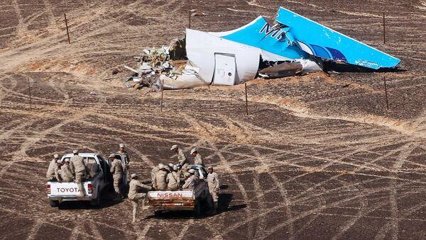 Ruské letadlo společnosti Kogalymavia, havarované na Sinajském poloostrově, mělo poruchu na ocasové části za letu v roce 2001 - Sputnik Česká republika