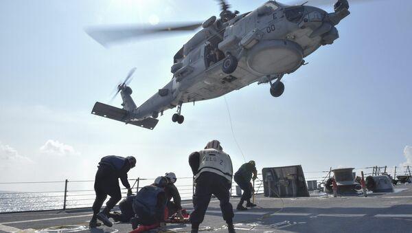 Vrtulník MH-60R Seahawk - Sputnik Česká republika