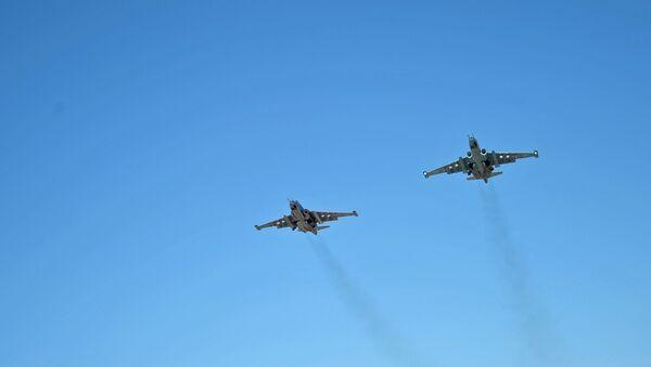 Su-25 v Sýrii - Sputnik Česká republika