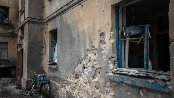 Dům v Debalceve - Sputnik Česká republika