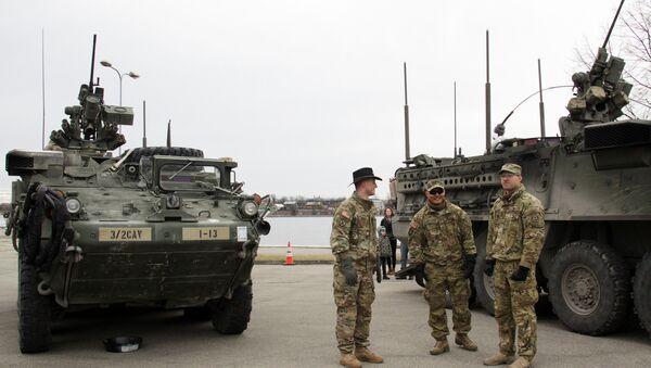 Americké vojáky - Sputnik Česká republika