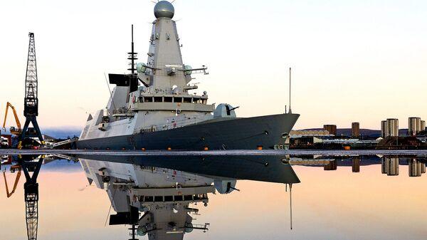 Loď britského královského námořnictva - Sputnik Česká republika