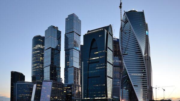 Byznyscentrum  Moscow-City - Sputnik Česká republika