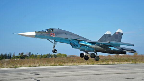 Stíhačka Su-34 - Sputnik Česká republika