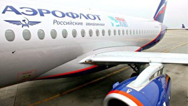 Letadlo společnosti Aeroflot - Sputnik Česká republika