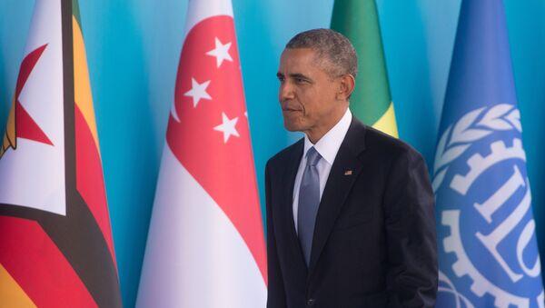 Barack Obama na summitu G20 v Turecku - Sputnik Česká republika