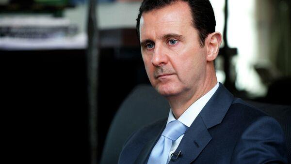 Prezident Sýrie Bašár al-Asad - Sputnik Česká republika