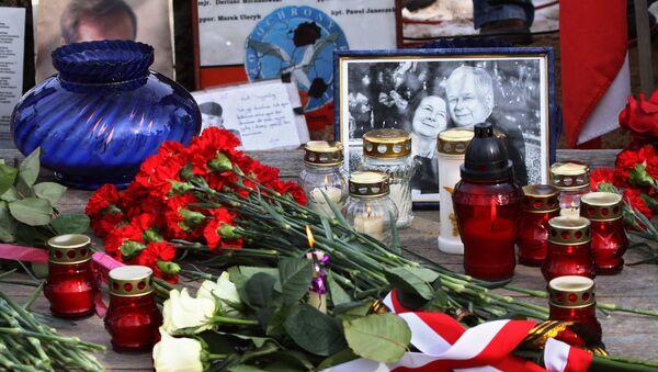 Výročí havárie letadla polského prezidenta - Sputnik Česká republika