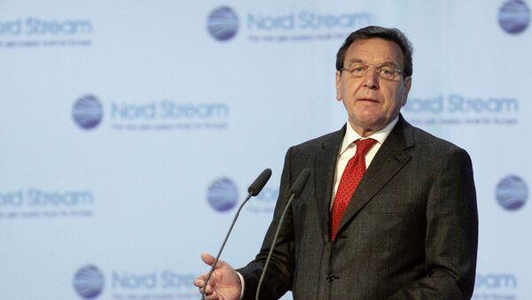 Bývalý kancléř Německa Gerhard Schröder - Sputnik Česká republika