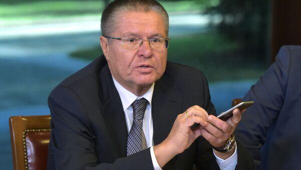 Ministr hospodářského rozvoje RF Alexej Uljukajev - Sputnik Česká republika