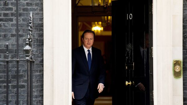 Britský premiér David Cameron - Sputnik Česká republika