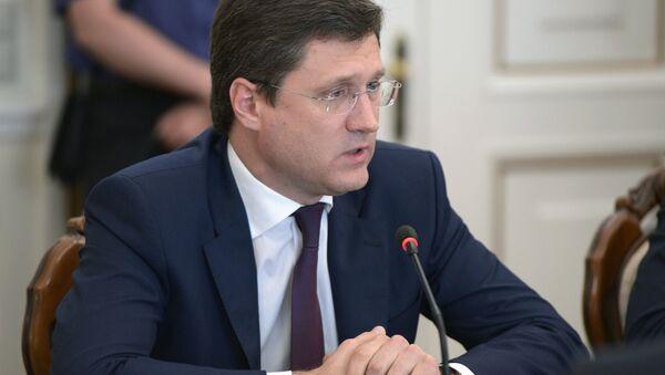 Alexander Novak - Sputnik Česká republika