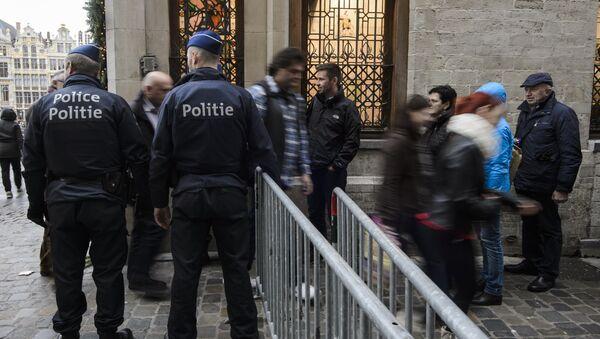 Policie v Bruselu - Sputnik Česká republika